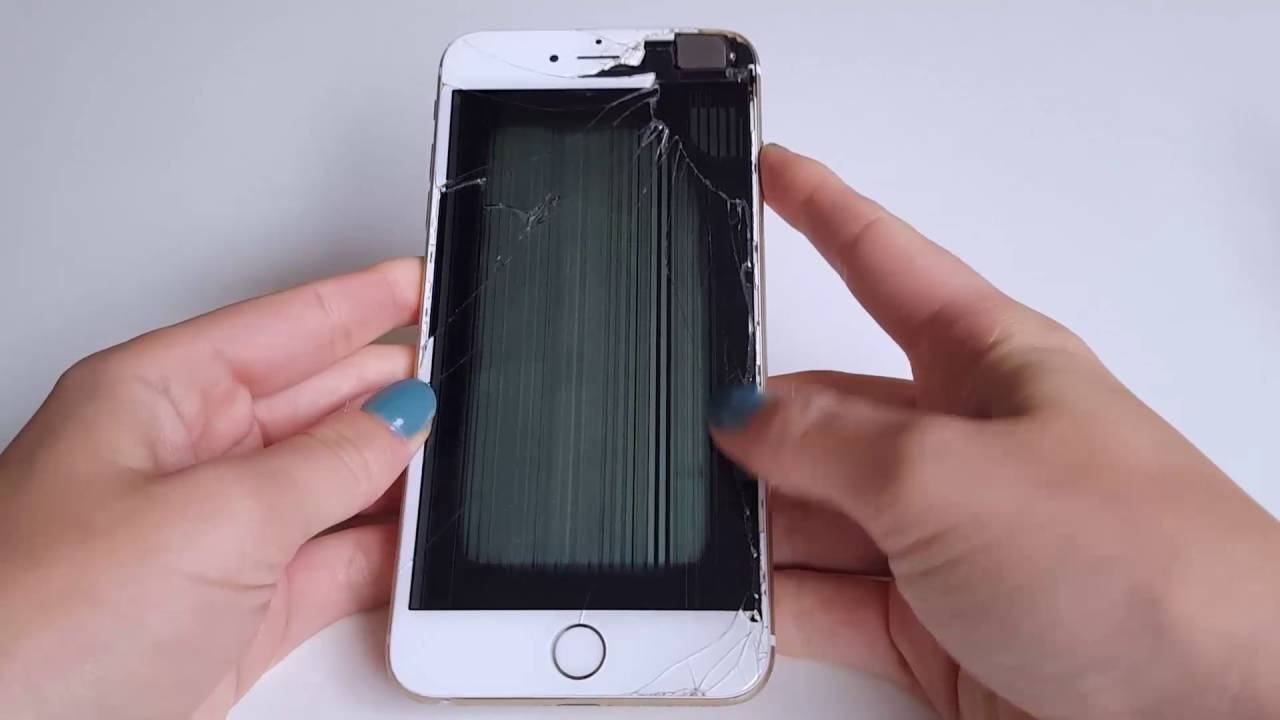 iPhone repair Los Angeles LA Damaged LCD Repair