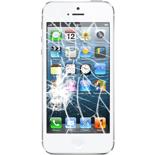 shattered iphone screen iphone 5 screen repair brokenwecanfixit 3917