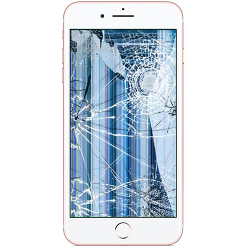 huge discount 3d5f1 1a63e iPhone 7 Plus Broken LCD Replacement